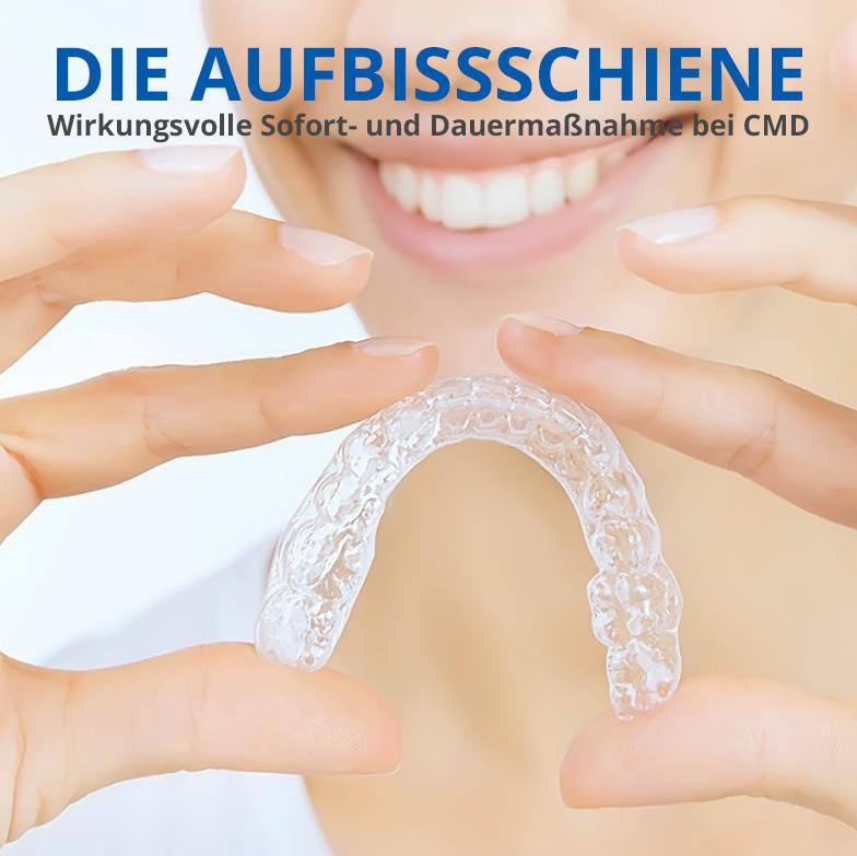 CMD Aufbissschiene/ Knirscherschiene (Craniomandibuläre Dysfunktion)