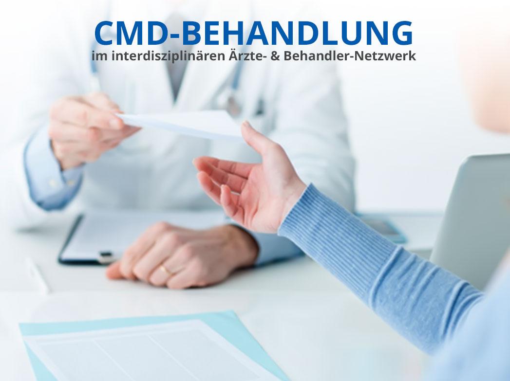 Interdisziplinäre CMD-Behandlung im CMD Köln Ärzte- & Behandler-Netzwerk e.V.