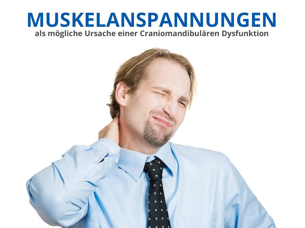 CMD: Muskelverspannungen als mögliche Ursache