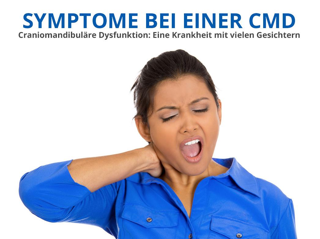 CMD-Symptome: Eine Krankheit mit vielen Gesichtern